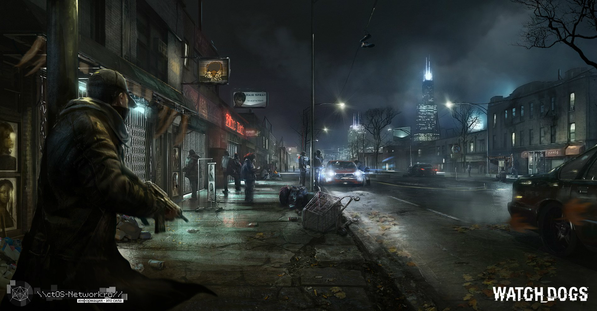 Watch Dogs  Dlc Trailer